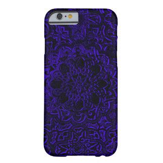Indigoblå iPhone för Mandala för Barely There iPhone 6 Fodral