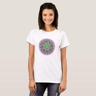 Indigoblå Mandala Tshirts