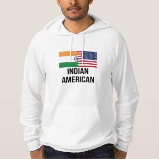 Indisk amerikanska flaggan sweatshirt