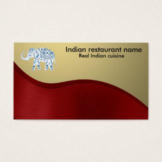 Indisk cuisine visitkort