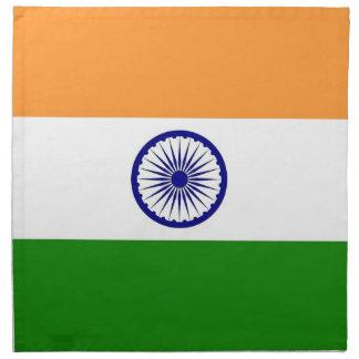 Indisk flagga på den MoJo servetten Tygservett