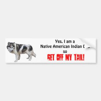 Indisk hundbildekal för indian bildekal