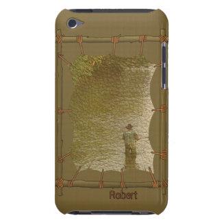 Indisk infödd ipod fodral för kanfasfotoram iPod touch case