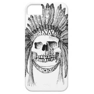 Indisk skalle på det Iphone fallet iPhone 5 Cases