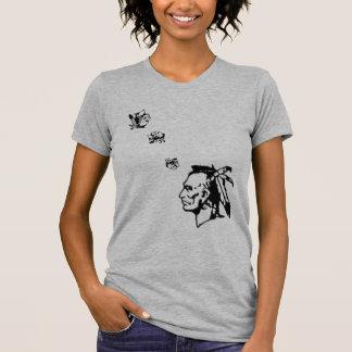 Indisk snurrande t shirts