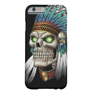 Indisk stam- gotisk skalle för indian barely there iPhone 6 fodral