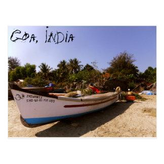 Indisk strandtid vykort