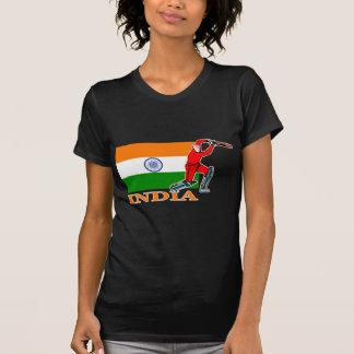 Indisk syrsaspelare tshirts