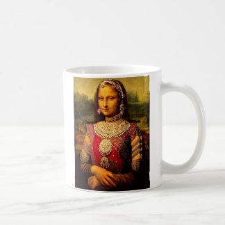 Indiska kungliga Monalisa Kaffemugg