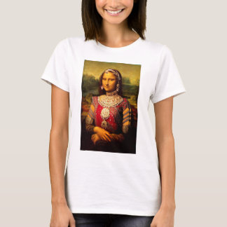 Indiska kungliga Monalisa Tshirts