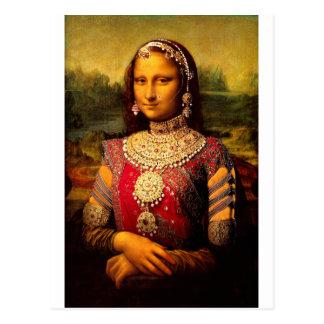 Indiska kungliga Monalisa Vykort