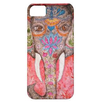 Indiskt fodral för elefantvattenfärgiPhone 5 iPhone 5 Case-Mate Skydd