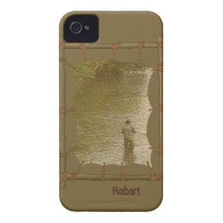 Indiskt infött fodral för iPhone 4 för kanfasfotor Case-Mate iPhone 4 Skydd