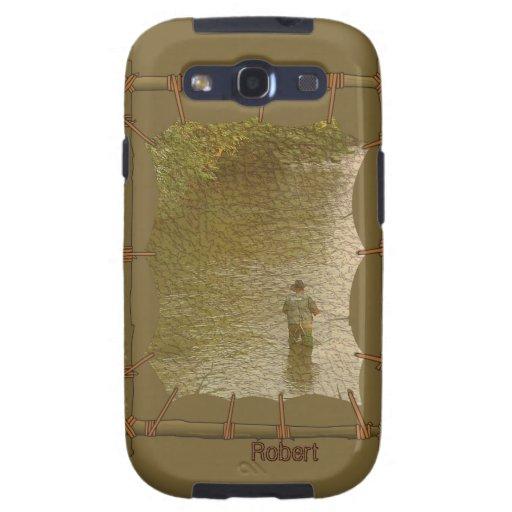 Indiskt infött Samsung för kanfasfotoram fodral Galaxy S3 Cases