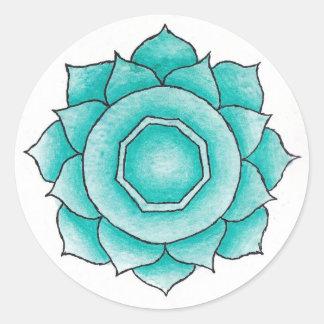 Indu Chakra klistermärke