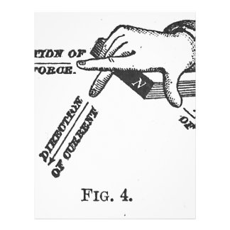 Industriellt mekaniskt iscensätta för vintage brevhuvud