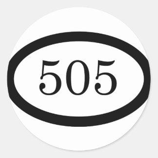 Infanteri för 505 fallskärm runt klistermärke