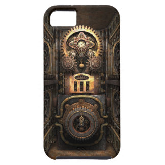 Infernalisk Steampunk Contraption iPhone 5 Skydd