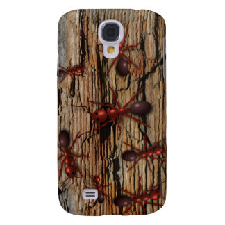 """Infested"""" iphone 3 fodral för myraN trä """""""