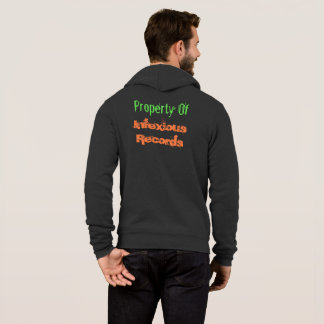 Infexious antecknar hoodien tröjor