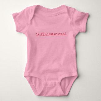 infintesimally mycket liten bebisromper - rosa t-shirt