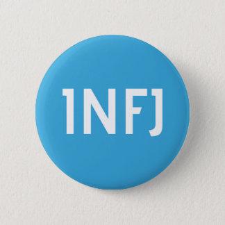 INFJ-gruppmedlemmen knäppas Standard Knapp Rund 5.7 Cm