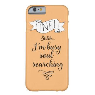 INFJ och själviakttagelse Barely There iPhone 6 Fodral