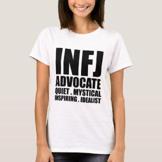 INFJ riktar inått T-skjortan Tee Shirt