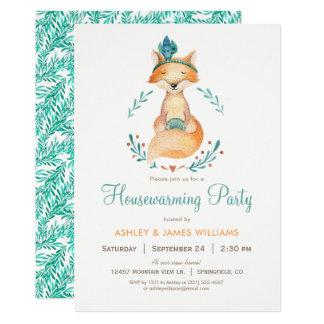 Inflyttnings- partyinbjudan för kricka och för 12,7 x 17,8 cm inbjudningskort