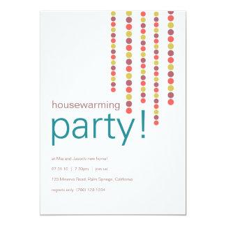 Inflyttnings- partyinbjudningar 12,7 x 17,8 cm inbjudningskort