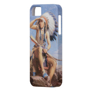 Infödd indisk chef fodral 1832 för iPhone 5 iPhone 5 Skydd