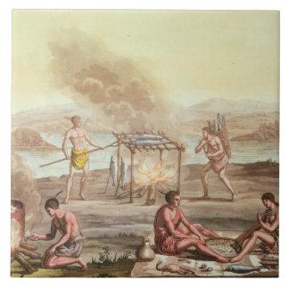 Infödda infödingar från Florida att förbereda sig  Kakelplatta
