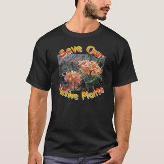 Infödingen flammar azaleaen tee shirts