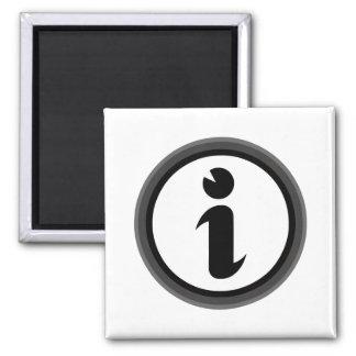 Informationssymbol Kylskåps Magneter