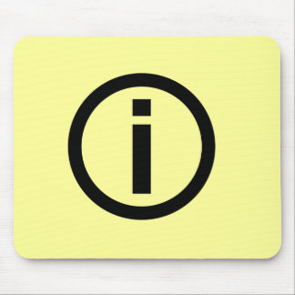 Informationssymbol - turism musmatta