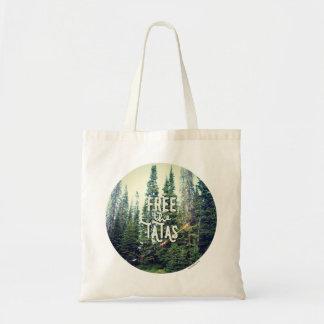 Inga behå som är tillåtna i skogen tygkasse
