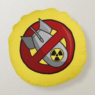 Inga kärnvapen rund kudde