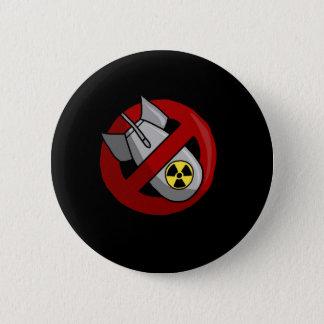 Inga kärnvapen standard knapp rund 5.7 cm