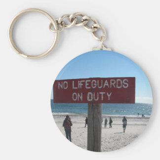 Inga livräddarear Keychain Rund Nyckelring