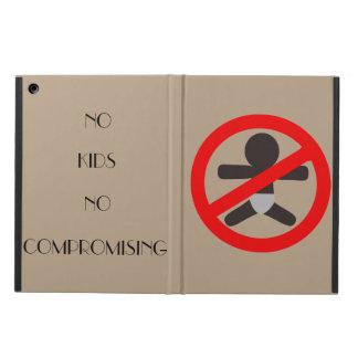 Inga ungar inget fodral för Comproming iPadluft -