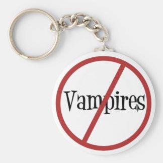 Inga vampyrer Keychain Rund Nyckelring