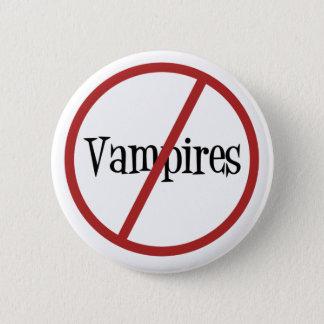 Inga vampyrer knäppas standard knapp rund 5.7 cm