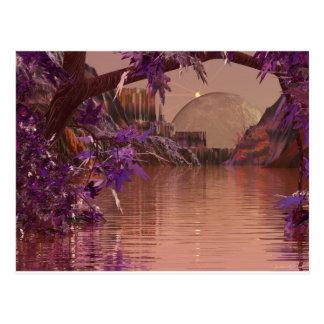 ingång för konst 3d av en dröm vykort