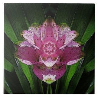 Ingefäran och lotusblommar keramiska Trancendence Kakelplatta
