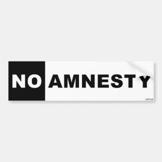 Ingen amnesti bildekal