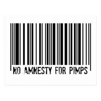 Ingen amnesti för Pimps - vykort