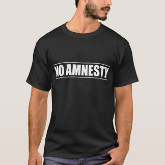 Ingen amnesti tee shirt
