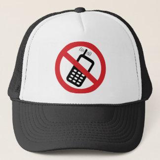 Ingen celltelefoner keps