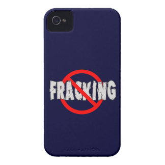 INGEN FRACKING! Avsluta Fracking iPhone 4 Case-Mate Skydd