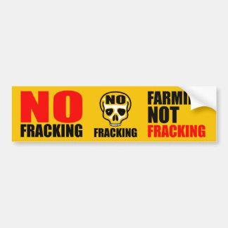 Ingen Fracking bildekal